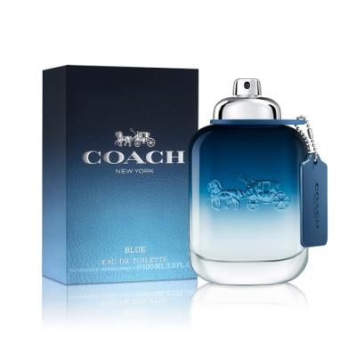 COACH Blue 時尚藍調男性淡香水100ml EDT-公司貨