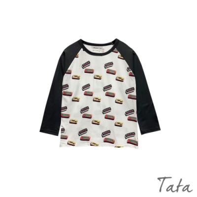 童裝 口香糖印花長袖上衣 TATA KIDS