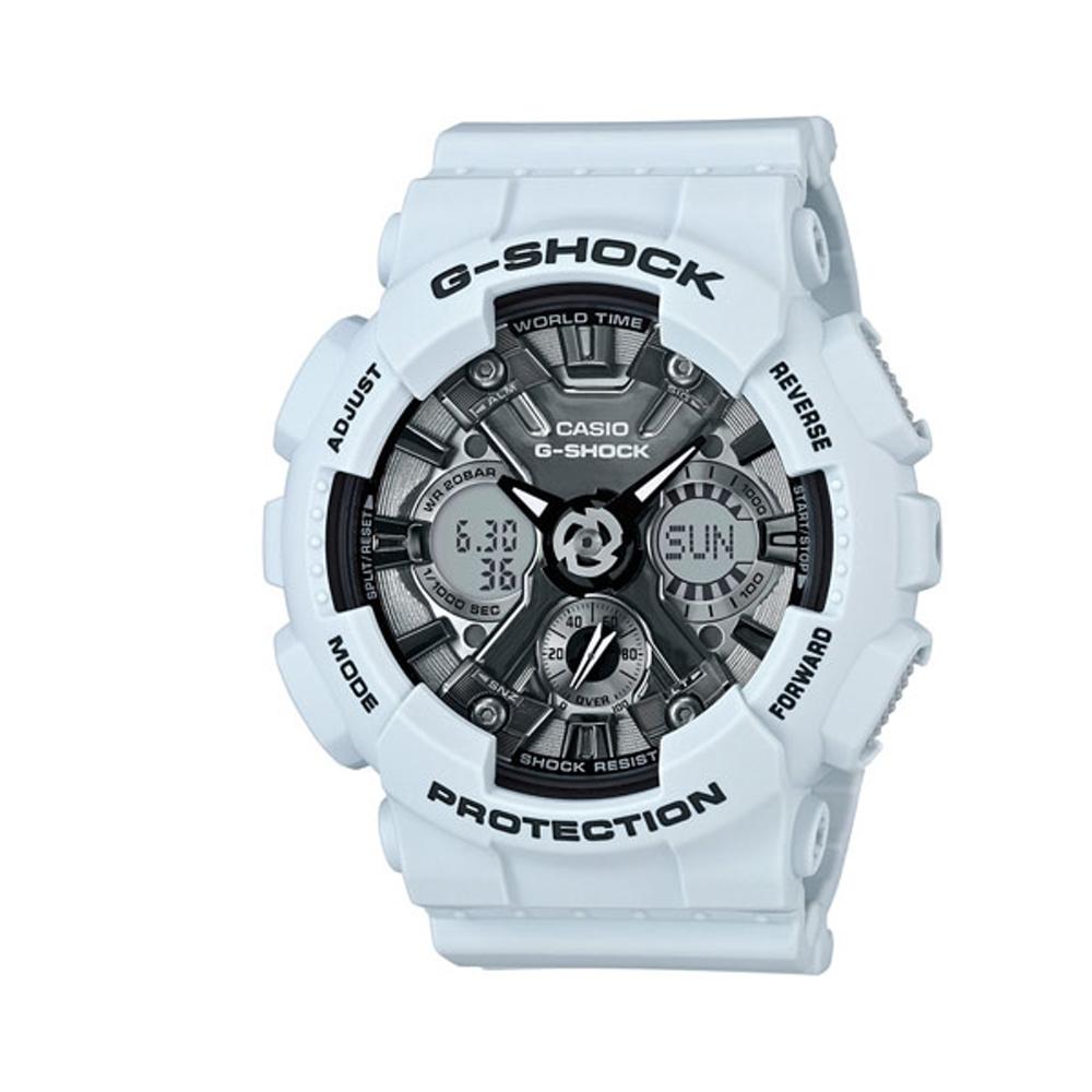 CASIO G-SHOCK/魅力圈專屬時尚運動腕錶/GMA-S120MF-2ADR