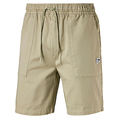 PUMA-男性流行系列Downtown短褲-榆木色-歐規