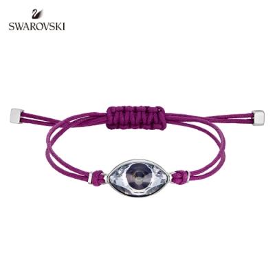 施華洛世奇 Impulsep 紫色惡魔之眼幸運繩結手鏈