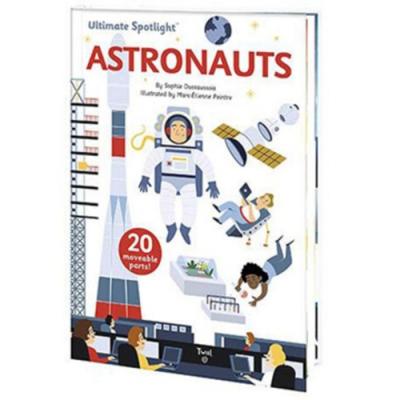Ultimate Spotlight:Astronauts 太空人出任務翻頁推拉書