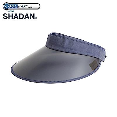 日本NEEDS抗UV中空COOLMAX+SHADAN隔熱紅外反射陶瓷纖維可折疊收納防曬遮陽帽くるっと収納 UVクールバイザー#679879藍底白點/#682510單寧藍