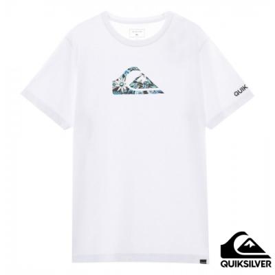 【QUIKSILVER】ISLAND TIME M&W ST 針織T恤 白