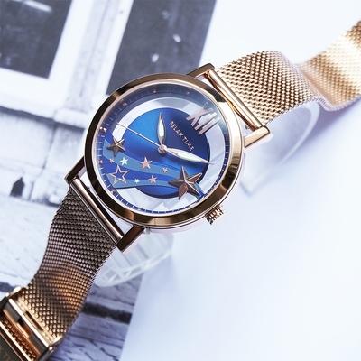 RELAX TIME 2021夢幻鏤空女錶 永恆系列-藍 RT-96-5
