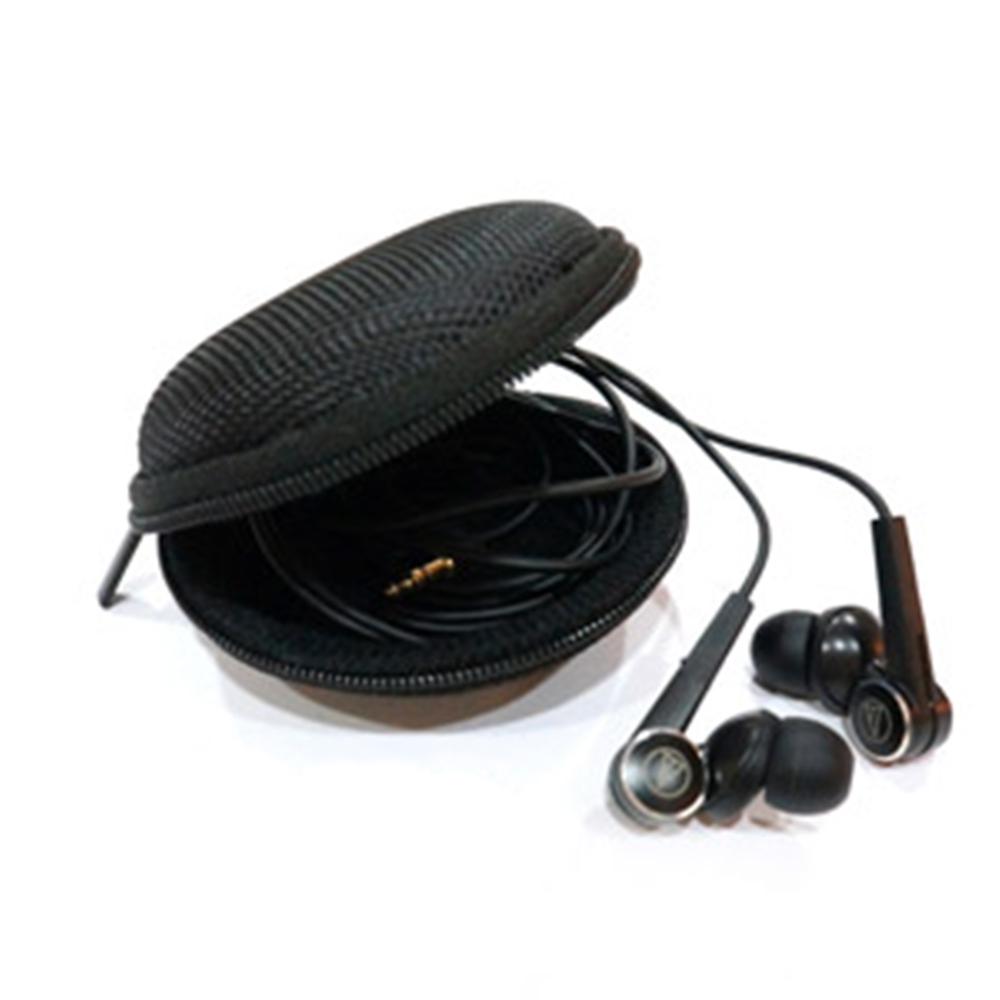 圓型硬殼收納盒 耳道式 入耳式耳機專用