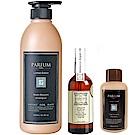 Parfum 巴黎帕芬 香氛精油洗髮精+小蒼蘭護髮油+贈洗髮精120ml