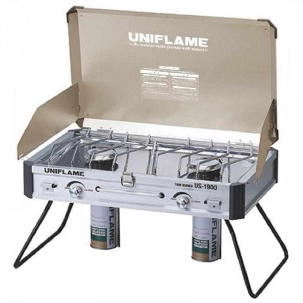 Uniflame U610329 瓦斯雙口爐 US-1900 香檳金