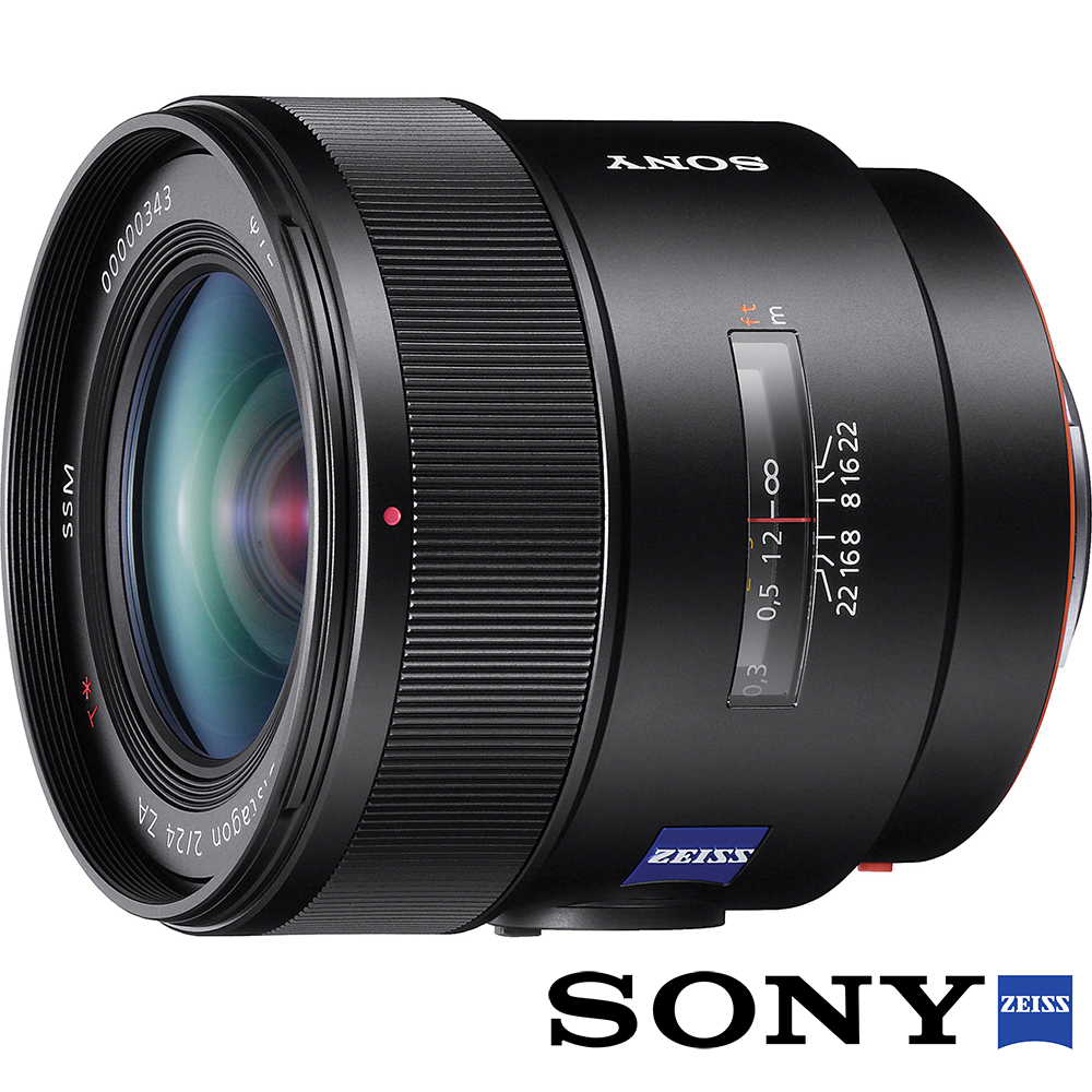 SONY Distagon T* 24mm F2 ZA SSM SAL24F20Z 公司貨