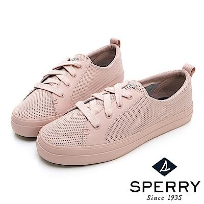 SPERRY 經典氣孔設計懶人休閒鞋-(女)-粉色