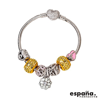 ESPANA伊潘娜 最好的自己黃金/純銀/琺瑯串珠手鍊