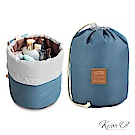 [絕版暢貨] Kiiwi O! 環遊世界系列盥洗包 CASEY 藍