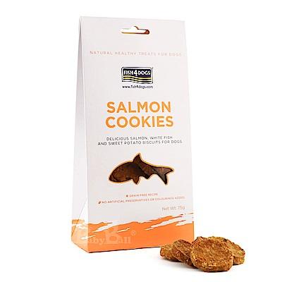 海洋之星FISH4DOGS-全天然健康點心-鮭魚餅乾75g