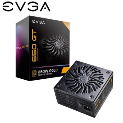 EVGA 艾維克 650 GT 650W 80plus 金牌 七年保固 全模組 全日系 電源供應器