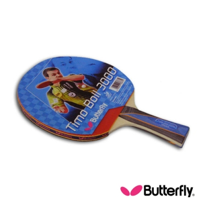 Butterfly  貼皮負手板 TIMO BOLL 波爾3000