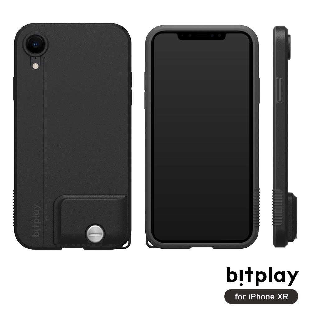 bitplay SNAP! iPhone XR專用 全包覆輕量防摔相機殼 質感黑
