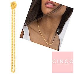 葡萄牙精品 CINCO Hanna choker 925純銀 24K金頸鍊 鎖骨鍊