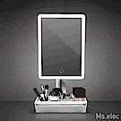 Ms.elec 米嬉樂 LED美肌收納化妝鏡 LM-007 桌上鏡 補光鏡 柔和燈光