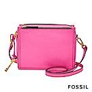 FOSSIL CAMPBELL 螢光粉紅斜背包