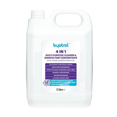 (時時樂限定)英國Byotrol居家全方位 去漬抗菌清潔濃縮液5L-B2047 效期2021.11.30