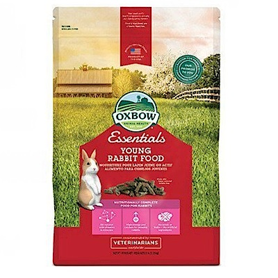 OXBOW活力幼兔配方飼料5磅兩包組