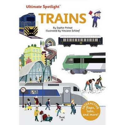 Ultimate Spotlight:Trains 火車大全翻頁推拉書