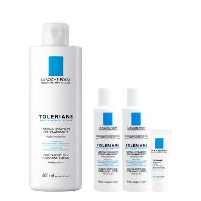 理膚寶水 多容安舒緩保濕化妝水400ml 加量保濕獨家組(送100ml化妝水+3ml乳液)