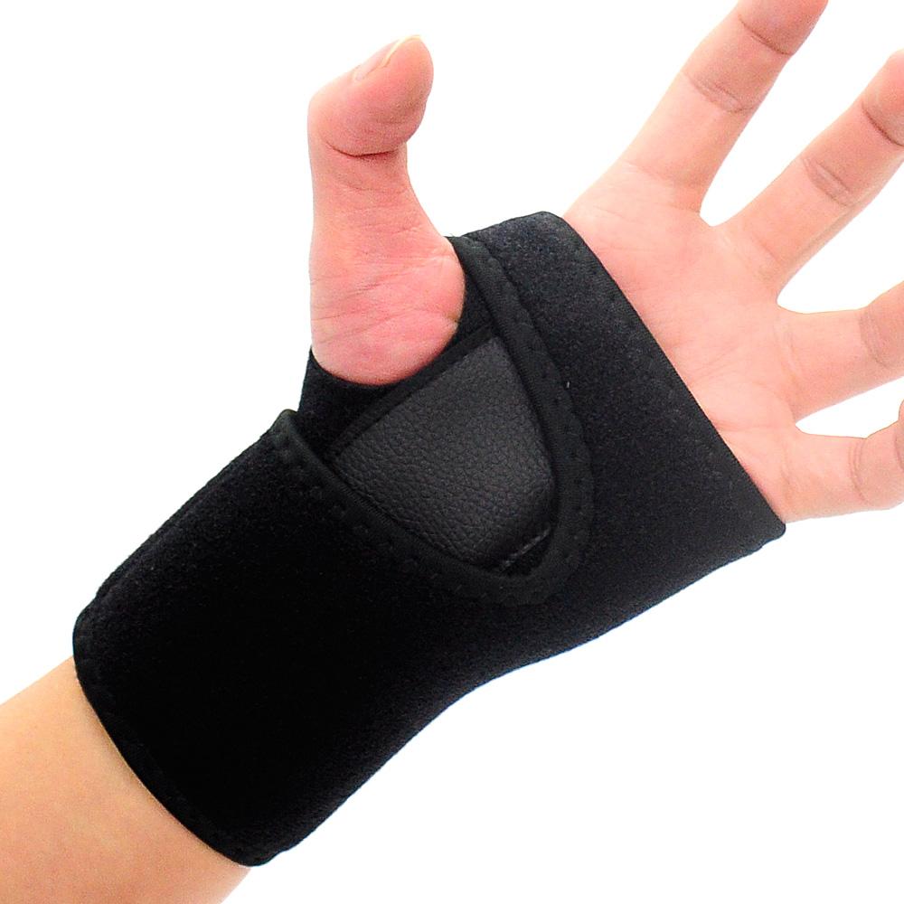 調節式加壓護腕(鋁片支撐) 兩段式手掌束帶-(快)