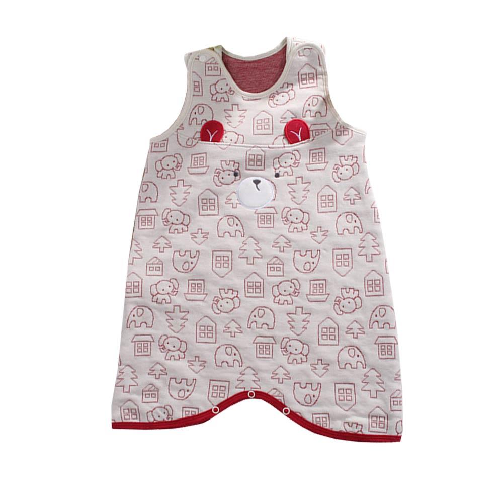 嬰兒三層棉防踢睡袍 a70193 魔法Baby