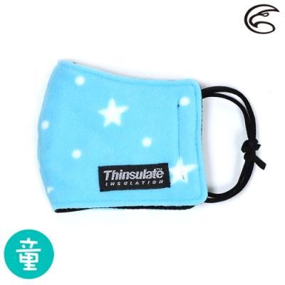 【ADISI】兒童防風保暖口罩 AS19027 / 淺藍星星
