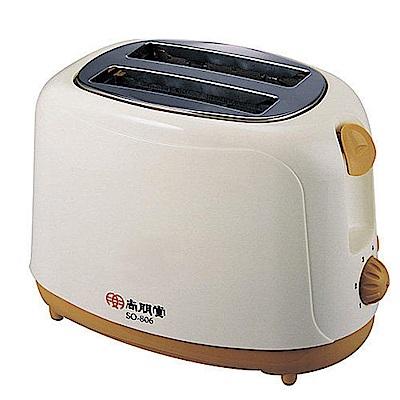 福利品-尚朋堂電子式烤麵包機 SO-806FW