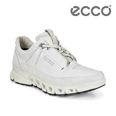 ECCO OMNI-VENT. 全方位城市戶外運動休閒鞋 女-白