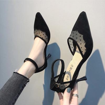 KEITH-WILL時尚鞋館 好感印象完美女神尖頭細鞋 黑