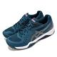 Asics 網球鞋 Gel-Challenger 12 男鞋 亞瑟士 緩衝 穩定 包覆 膠底 運動 藍 黑 1041A045402 product thumbnail 2