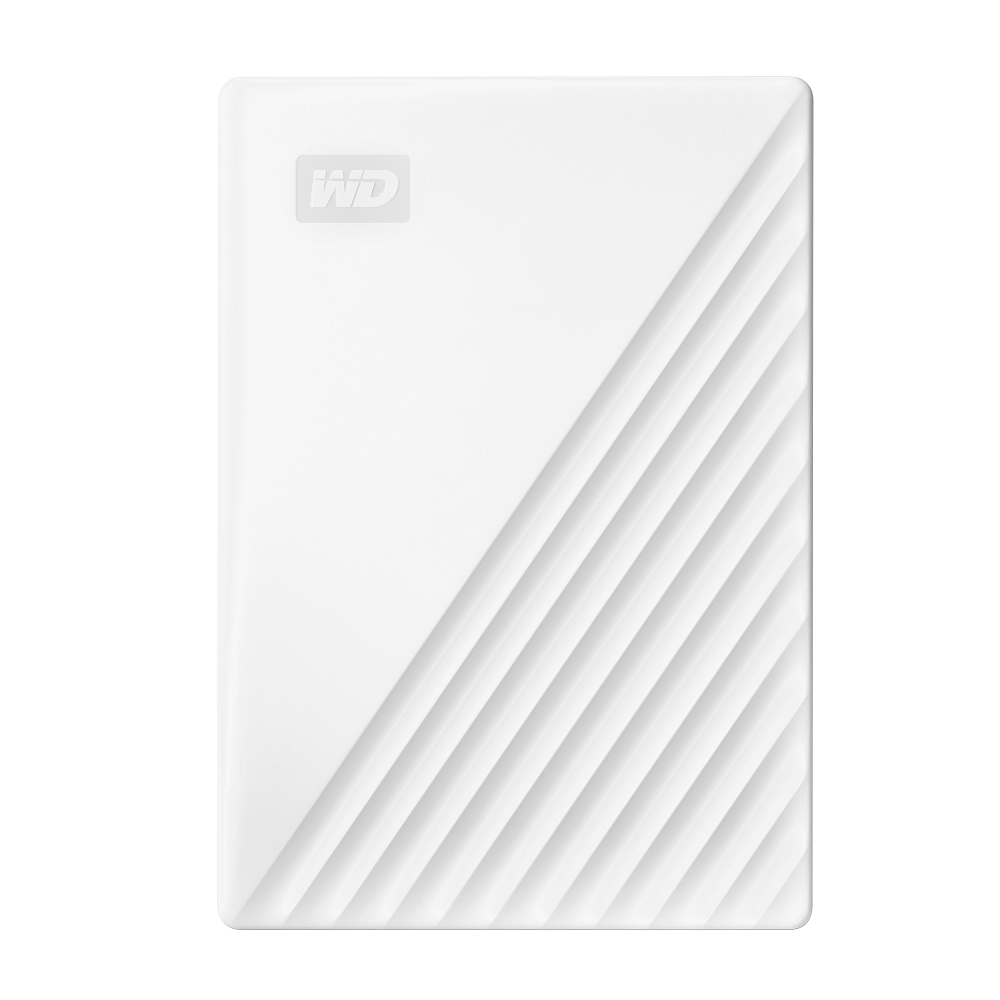 WD My Passport 5TB(白) 2.5吋行動硬碟