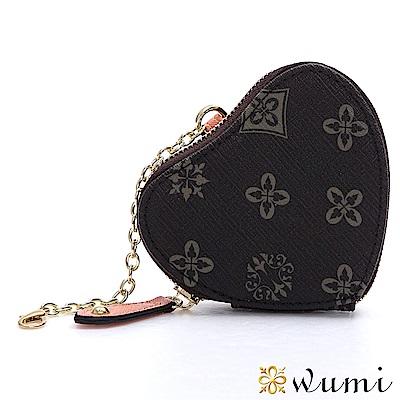 WuMi 無米 花漾圖騰心型小包 共二色