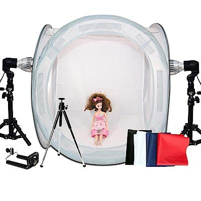 YADATEK標準色溫雙燈組+60cm棚組(YD60)