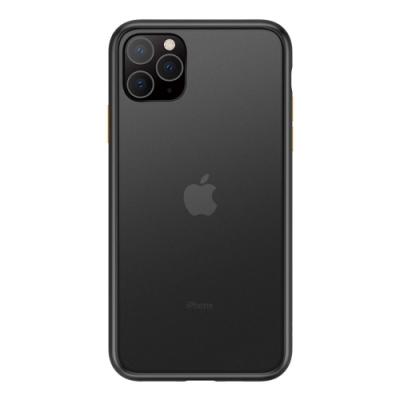 TOYSELECT iPhone 11火星盾減震矽膠防摔手機殼:黑黃撞色
