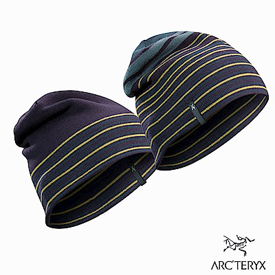Arcteryx Rolling Stripe 保暖針織毛帽 漩渦