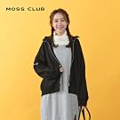 新降【MOSS CLUB】運動風直條紋棒球-外套(灰色)