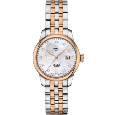 TISSOT Le Locle 力洛克 優雅機械女錶(T0062072211600)