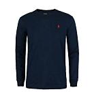 Ralph Lauren 男生 長袖T恤 黑 1453