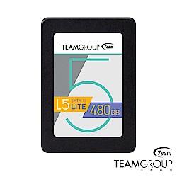 TEAM十銓 L5 Lite 480GB 2.5吋 SSD固態硬碟