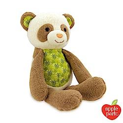 美國 Apple Park 有機棉安撫玩偶 - 綠葉貓熊
