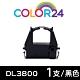 Color24 for Fujitsu DL3800 黑色相容色帶 /適用Fujitsu DL-3850+/DL-3750+/DL-3800 Pro/DL-3700 Pro/DL-9600 product thumbnail 1