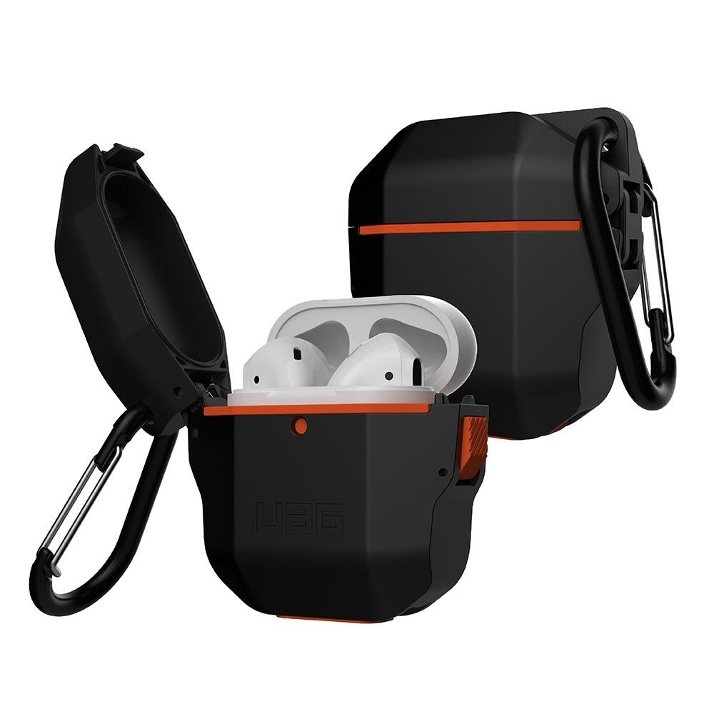 UAG AirPods 耐衝擊防水防塵硬式保護殼-黑