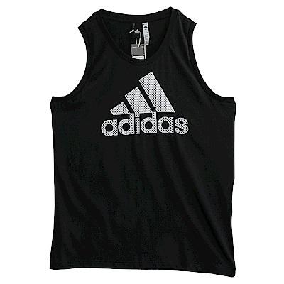 Adidas 愛迪達 MESH BOS-背心-男