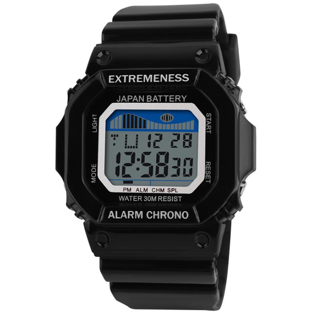 SKMEI 時刻美6918-青春活力多功能果凍電子錶(2色任選) @ Y!購物