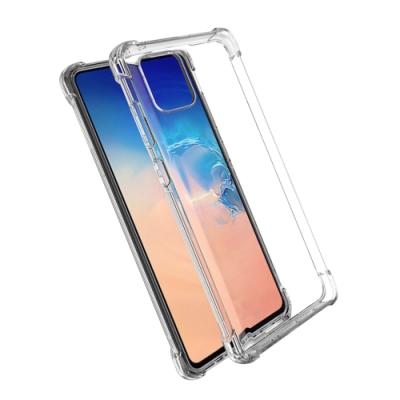 三星 Galaxy Note 10 lite 手機殼 透明 防摔防撞 四角氣囊殼 透明x1 (Samsung Note10 Lite手機殼 Note10 Lite保護殼 Note10 Lite保護套)