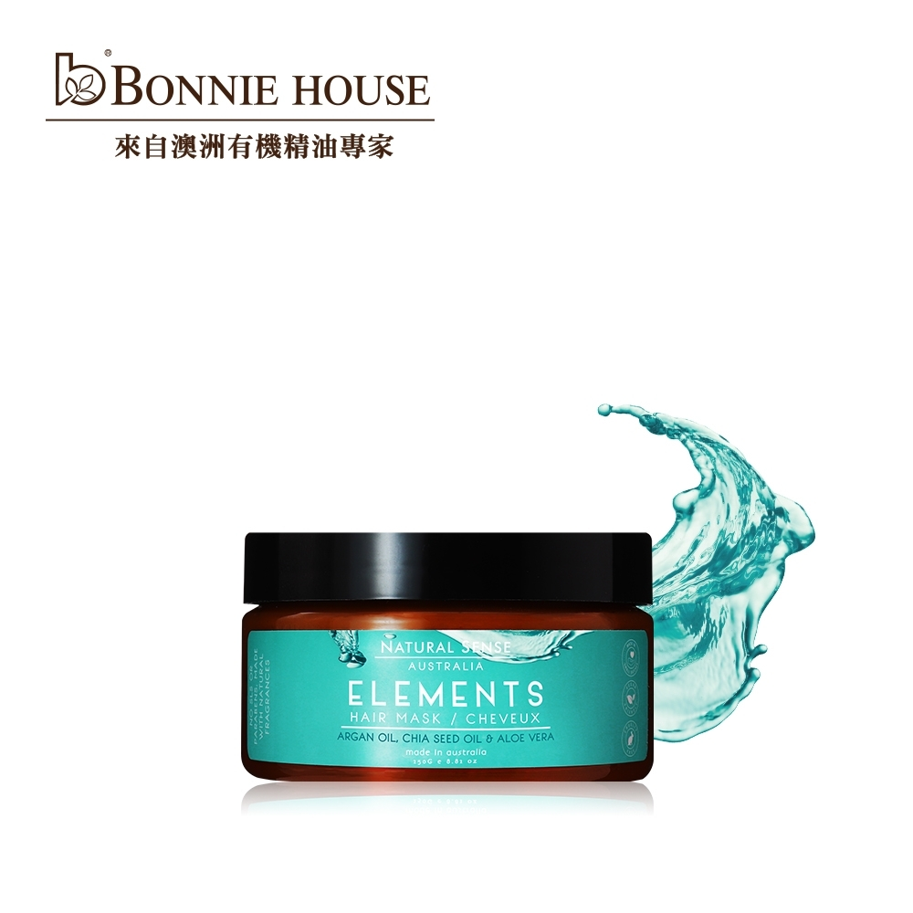 Bonnie House 黃金奇蹟籽植萃賦髮膜250g